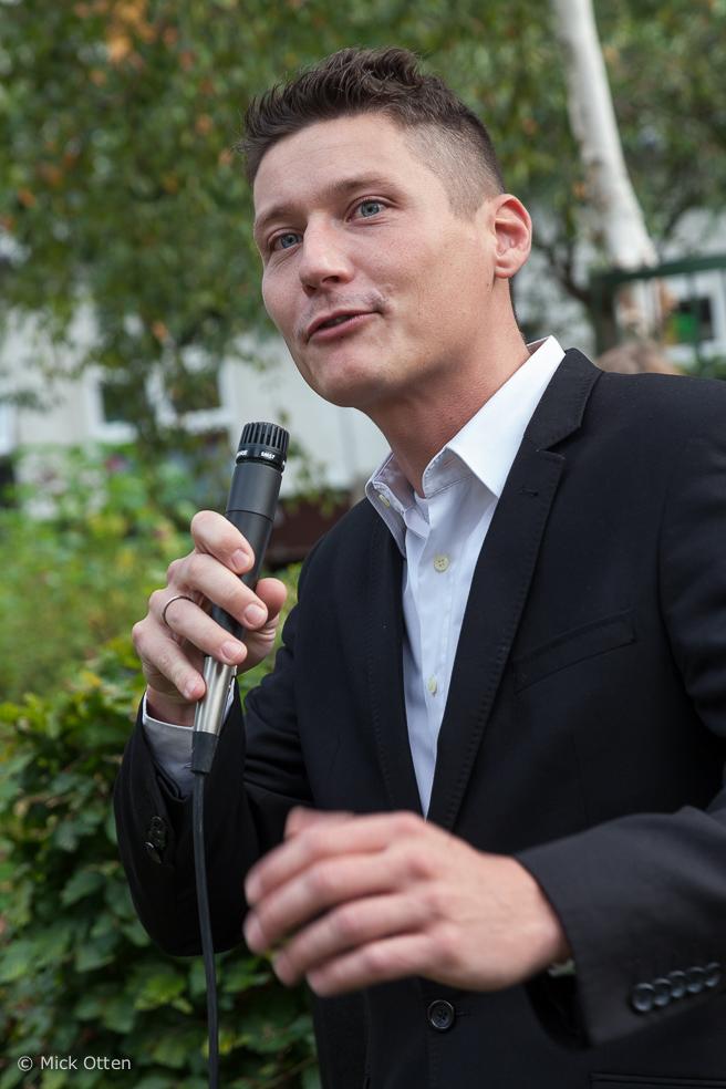 Thomas Roskam naar de Denksportdag Rotterdam